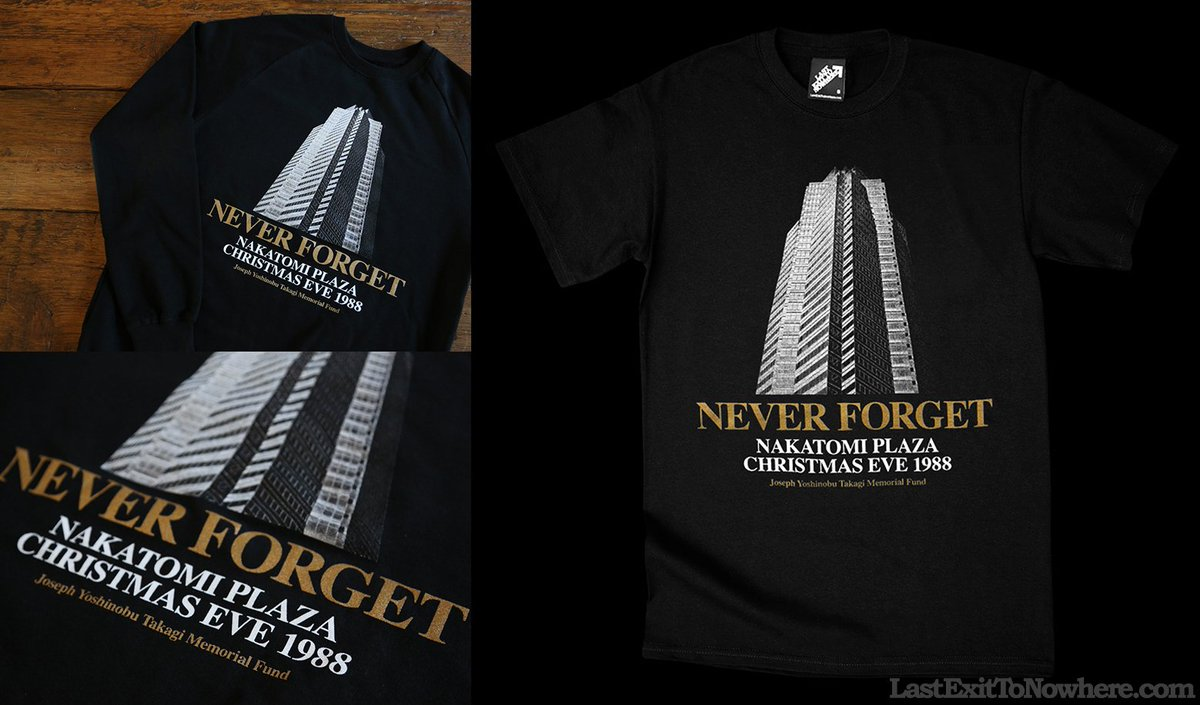 never forget nakatomi plaza christmas eve 1988 httpstcoc5forquvh5 inspired by diehard httpstcosm0lwxojzi
