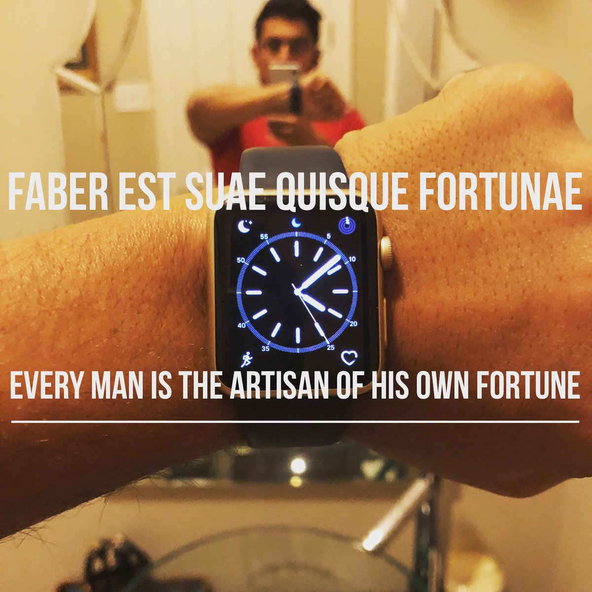 Neel S Sus On Twitter Every Man Is The Artisan Of His Own Fortune