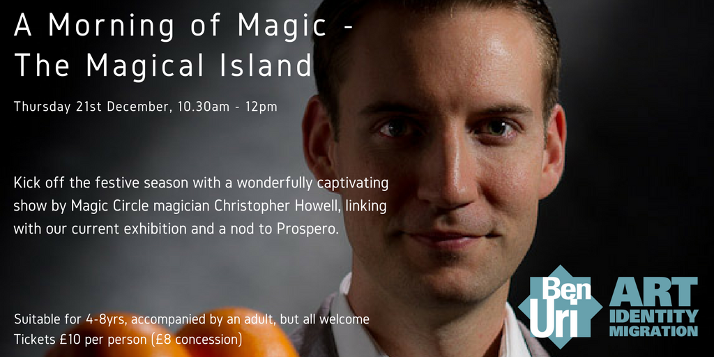 Join us for A Morning of Magic - The Magical Island next Thursday 21/12. Tickets here: https://t.co/iSMQXmT9To