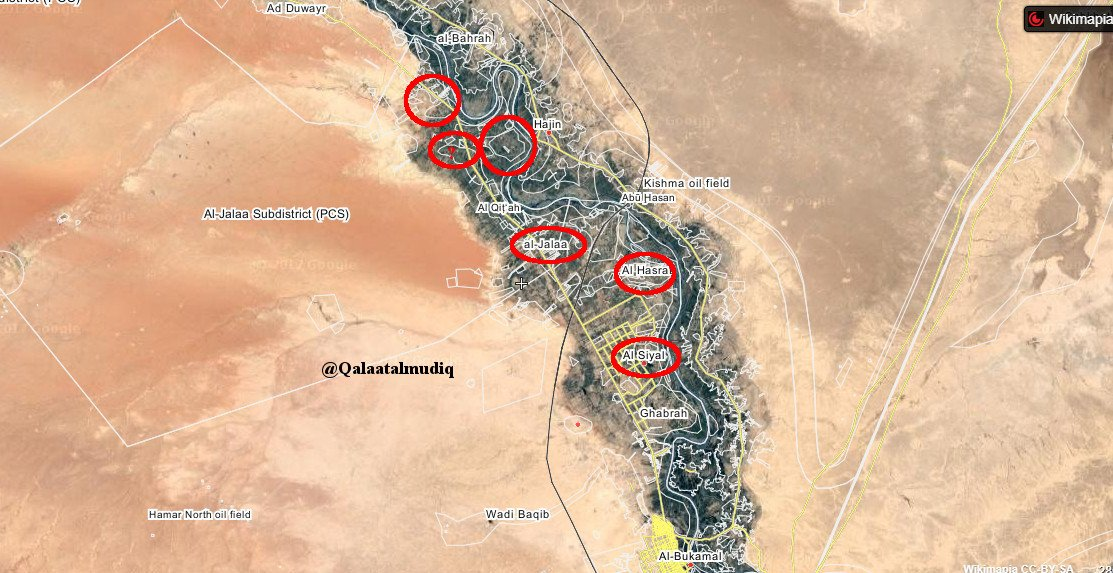 Since yesterday&#39;s announcement of large offensive carried out N. of #AbuKemal, #ISIS claimed takeover of string of villages on W. #Euphrates bank.<br>http://pic.twitter.com/fiT06OfbEl