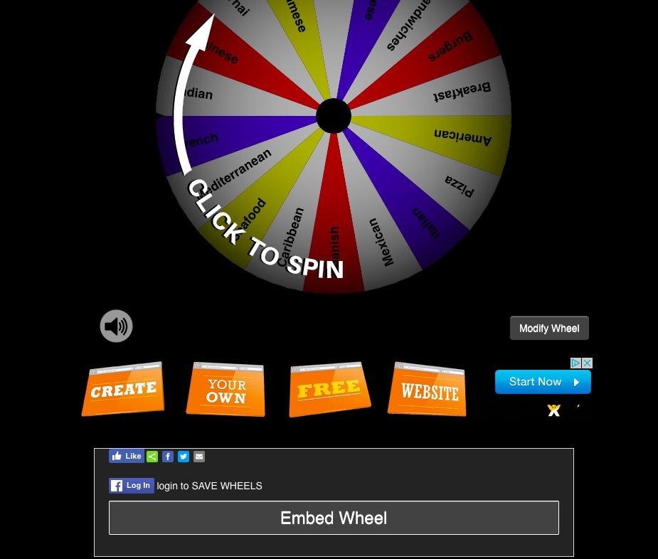 Wheel Decide on Twitter: