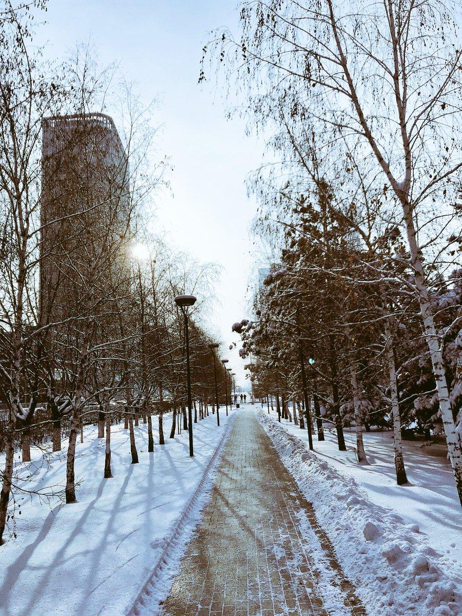 RT @Kazakhstan: Snowy ❄️ #Astana https://t.co/cgUkhXr1zL