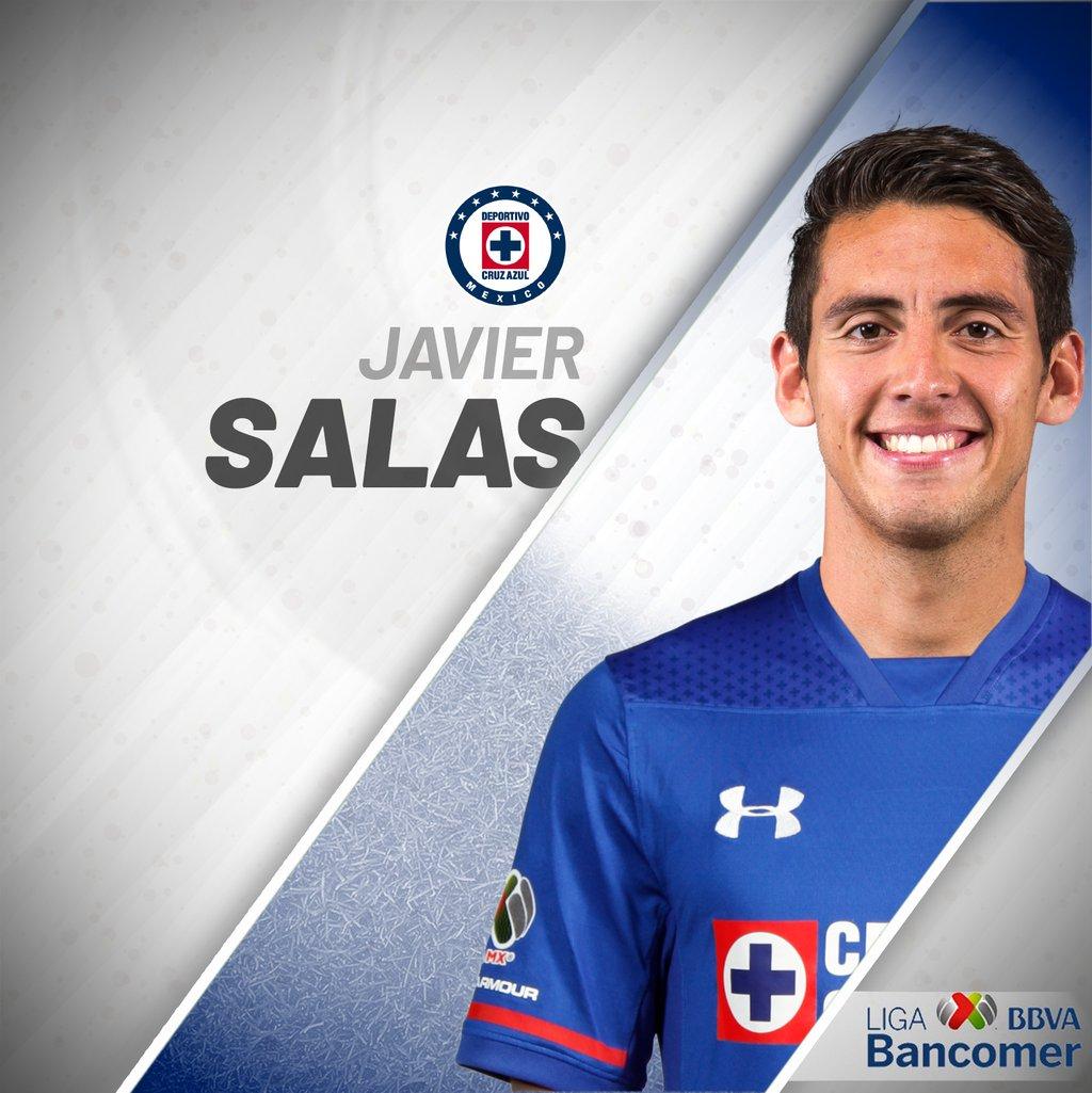 Javier Salas se incorpora en transferencia definitiva de cara al Clausura 2018. ¡Bienvenido a La Máquina! 🇲🇽🔵🚂