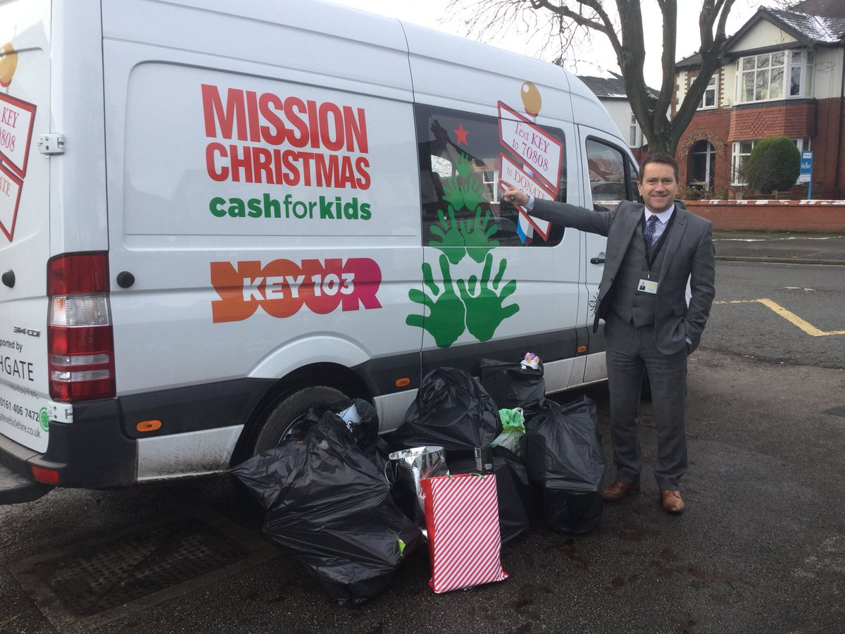 An amazing amount of toys have just been collected for the Key 103 Mission Christmas appeal - thank you all for your generous donations.#MissionChristmas #key103