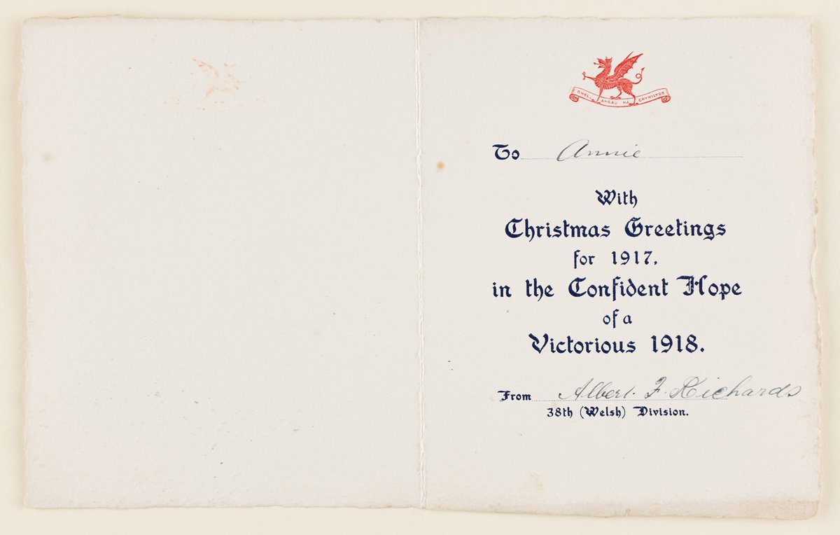 St Fagans Archive On Twitter Christmas Card Of The 38th Welsh