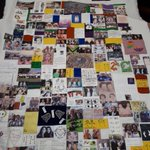 On the 12th day of TwinsUK's Christmas we're cheating a bit by bringing you this beautiful quilt made by our twin volunteers for our 21st birthday back in 2013. Not quite a 2017 highlight but too good not to share! #twinship #twins #crafty #twinparty #birthdaypresent 🎅🎅