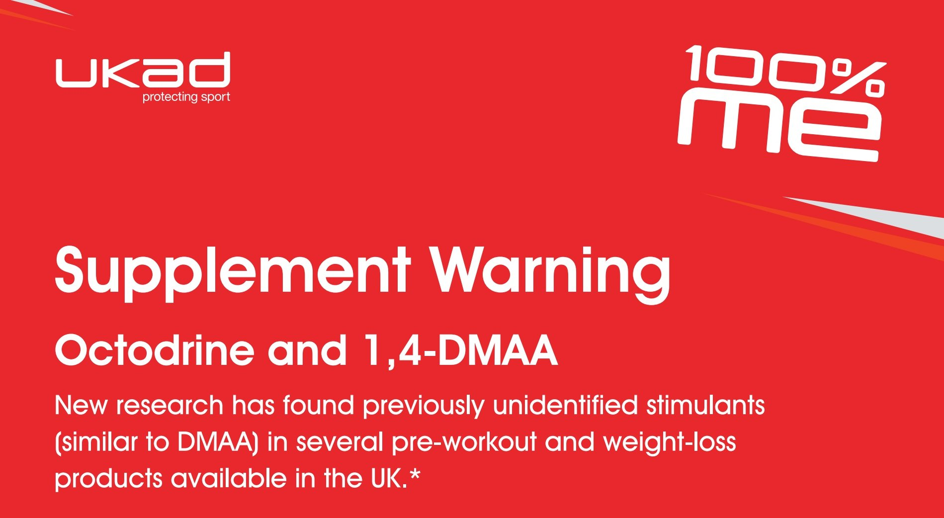 """UK Anti-Doping on Twitter: """"WARNING 