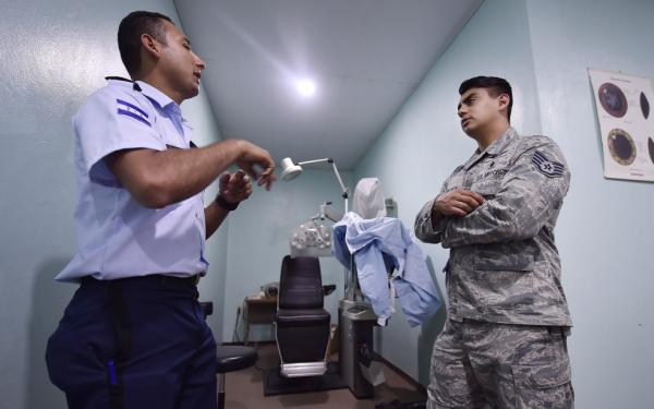 #TuesdayTrivia: Global Health Engagement operations take place around the world. Can you name the six global commands?  While you think, check out the picture below of a U.S. Airman sharing aerospace medicine best practices with our Honduran counterparts. <br>http://pic.twitter.com/VT6eG0n9Hl