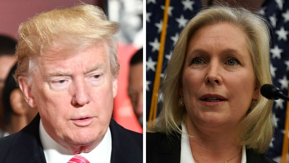 JUST IN: Gillibrand fires back at Trump: You can't silence me or the millions of women speaking out https://t.co/B2uBLDLkE6