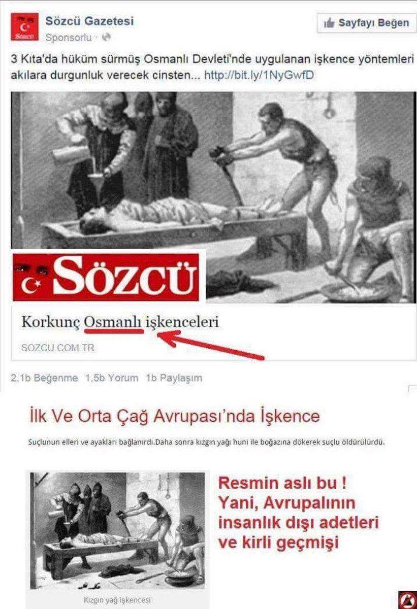 RT @ufukcoskunn: Osmanlıya bu denli kin ve nefret ancak Haçlı zihniyetinde olur! https://t.co/rdG9448GPU