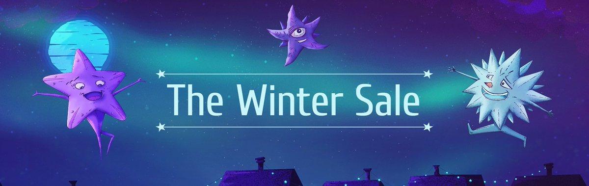 Começou a Promoção de Inverno https://t.co/gy0J1SllWk. Estamos fazendo 14 dias de promoção de inverno, começando com 500 + ofertas até -90%, mais ofertas adicionadas todos os dias e Estrelas de férias cheias de ótimos Jogos Surpresa! https://t.co/SiF06Yf8n3 https://t.co/W1QAb5Qk6C