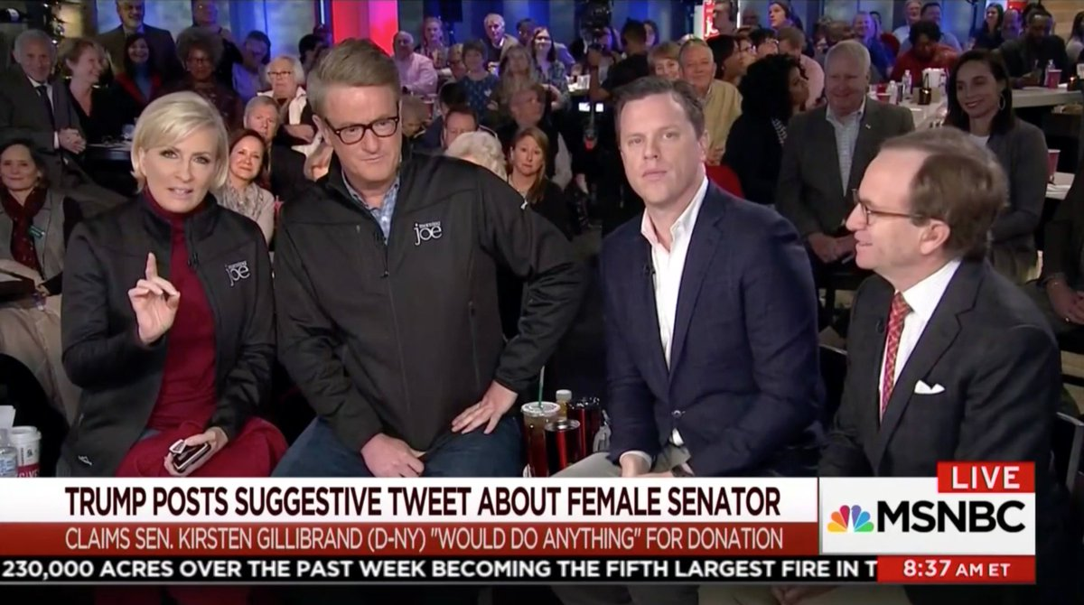 Outraged Morning Joe Panel Eviscerates Trump For 'Obscene' and 'Sick' Kirsten Gillibrand Tweet https://t.co/Wc0GLWZ68p