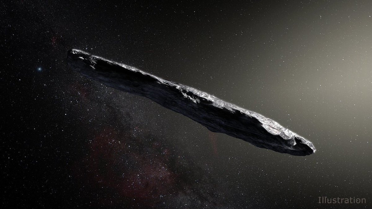 WATCH: Astronomers are to scan a huge cigar-shaped interstellar object, amid claims it could be some kind of artifact: https://t.co/FUfBsrt49d