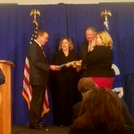 Director of Office of Management and Budget @MickMulvaneyOMB swears in @GSAEmily as the next administrator of the U.S. General Services Administration.