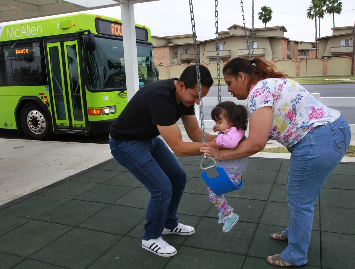 #MyVeryShortStory People at bus stops waited and sat. And sat. And sat. Along came a man named @robdeleonjr with a group called @kaboom in a place called @CityofMcAllen. Then the people at bus stops swung! And jumped! And played! 👉🏽 Full Story: https://t.co/5wWFjL3GRT