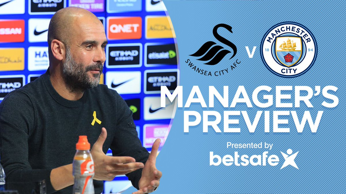 Watch what the boss had to say ahead our trip to @SwansOfficial   🎥 ➡️ https://t.co/naz4Fy9y9d #mancity #swansvcity