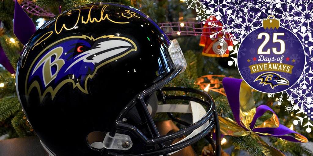 Today's Giveaway: this @weddlesbeard autographed replica helmet! Retweet to cast your #ProBowlVote for Weddle and have a chance to win!
