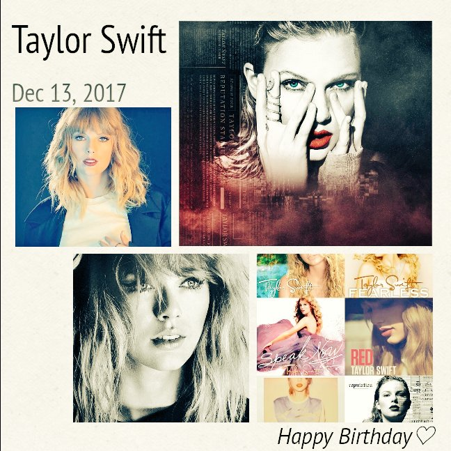Taylor Swift Happy Birthday             28   1           Swift Birthday