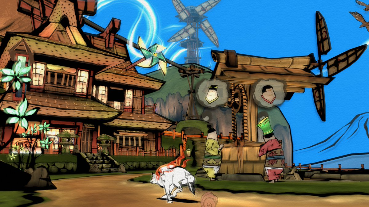 Okami HD is out today on PC, PS4 and Xbox One … but it really should be on Switch: https://t.co/UkSO8DiM5D