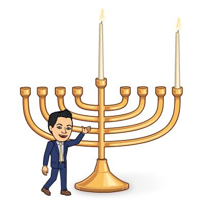 Hanukkah begins at sundown tonight. To all celebrating, Happy Hanukkah! #holidays #Hanukkah #Hanukkah2017 #Chanukah