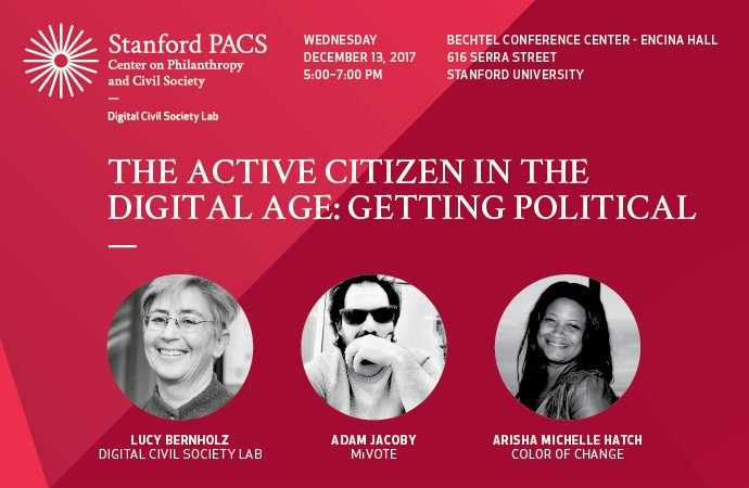 "test Twitter Media - Join us tomorrow evening from 5pm-7pm for our ongoing speaker series, ""The Active Citizen in the Digital Age: Getting Political.""   You can register for this free event here: https://t.co/XVeHJlm1TA https://t.co/YGtCuxkdQR"