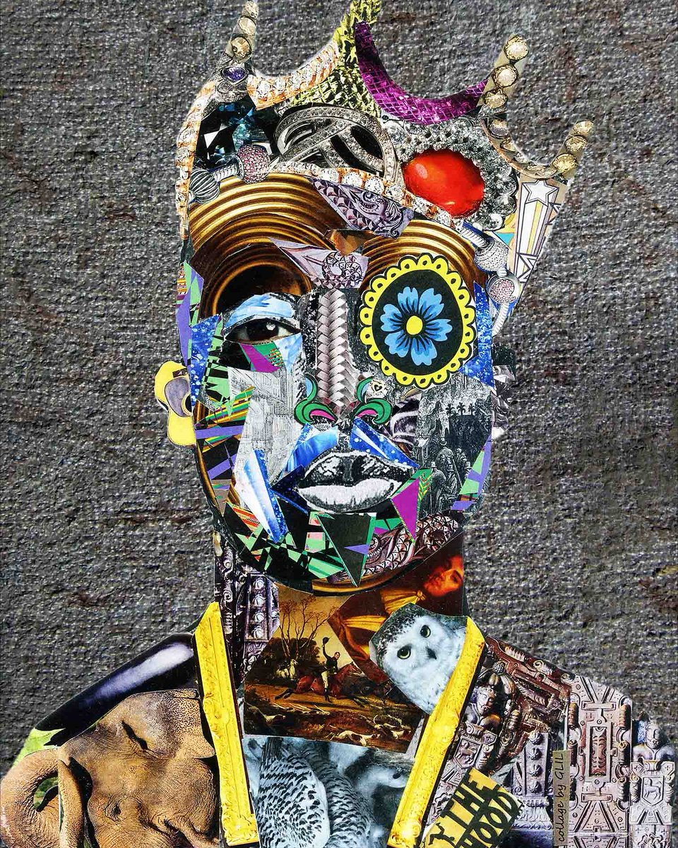 Tupac 2pac hiphop king collagebyglil contemporaryart streetart wheatpaste bombing sticker graffiti urbanart londonart popculture popart