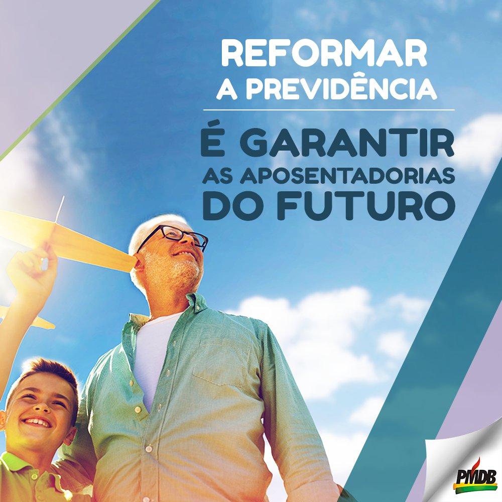 A reforma da Previdência é urgente e não resolve somente o problema do presente, mas garante as aposentadorias no futuro.https://t.co/Rf2mvOEQlZ