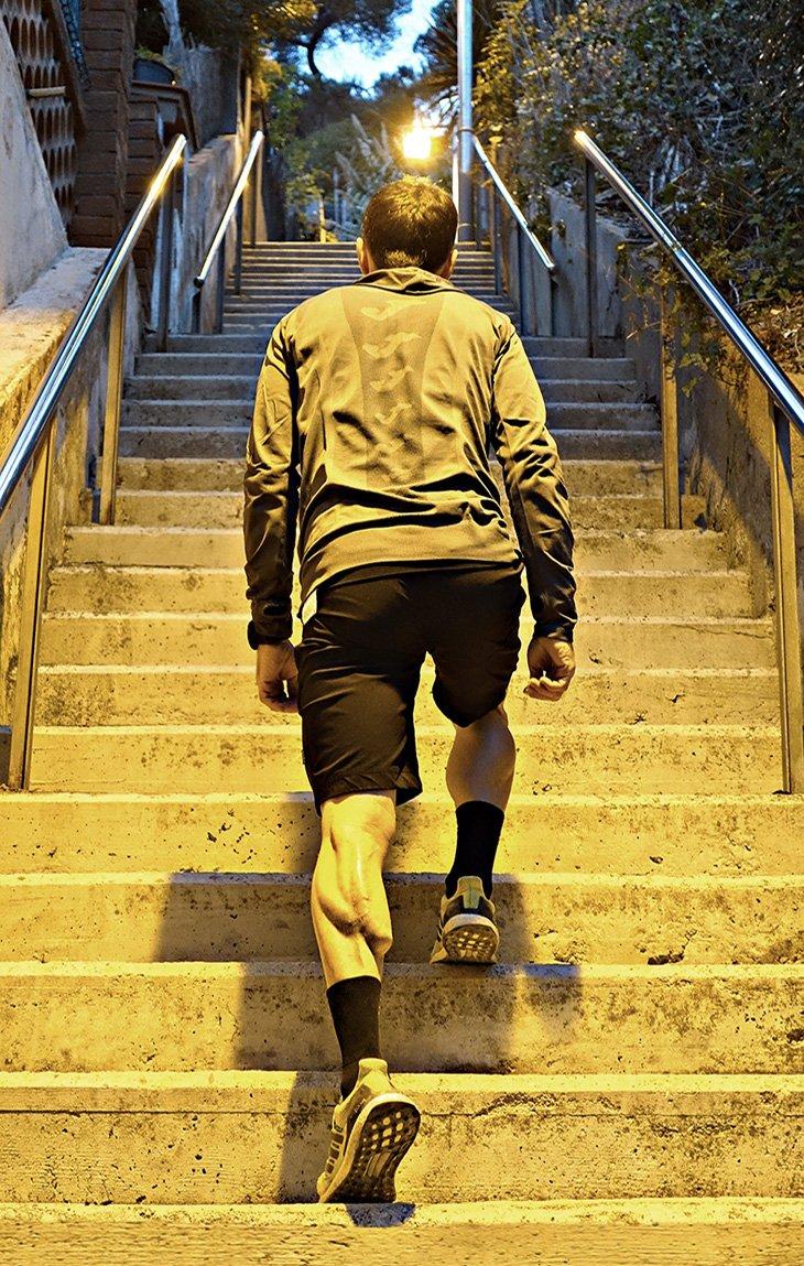 Entrenamiento de escaleras de Ibon Zugasti
