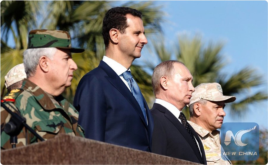 Russia begins partial troops withdrawal in Syria under order of President Vladimir Putin, local media reports https://t.co/3gi6hOpc2a