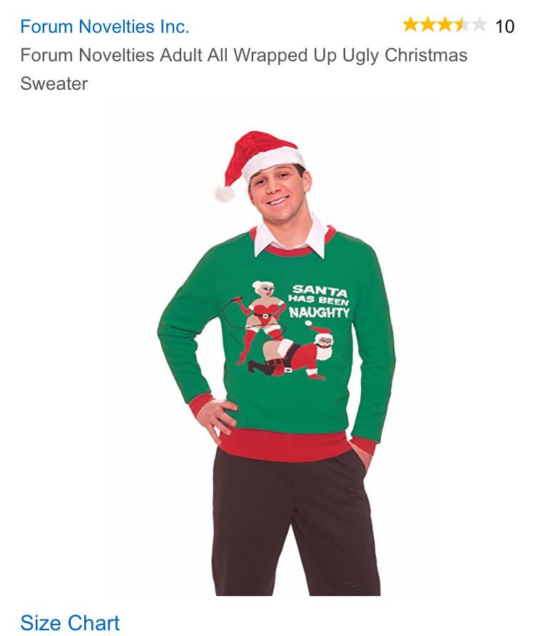 why are raunchy christmas sweaters a thingpictwittercomlwtovacp4j