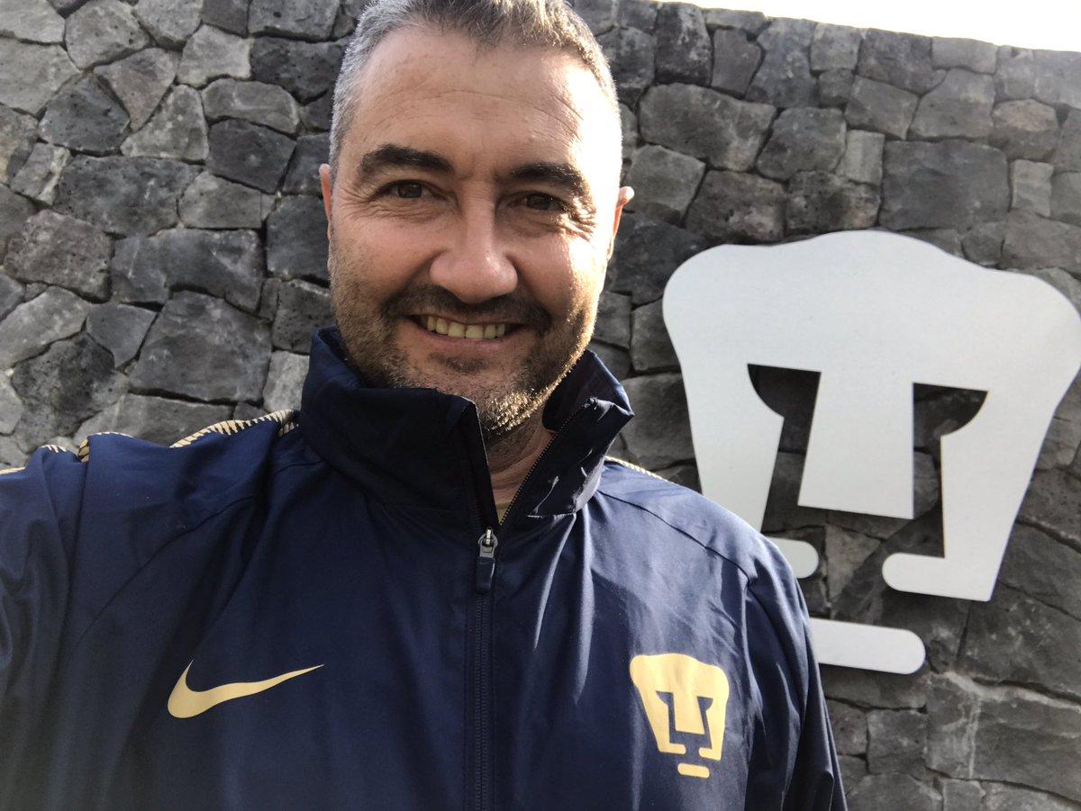 Marcelo Capirossi entrenador de Porteros en Pumas