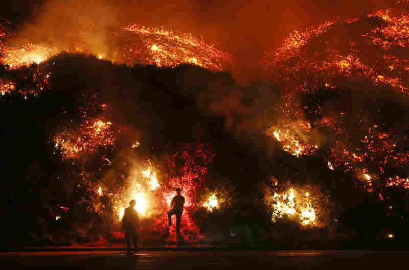 The fires in California are symbolic of what one-party Democratic rule is doing to the state