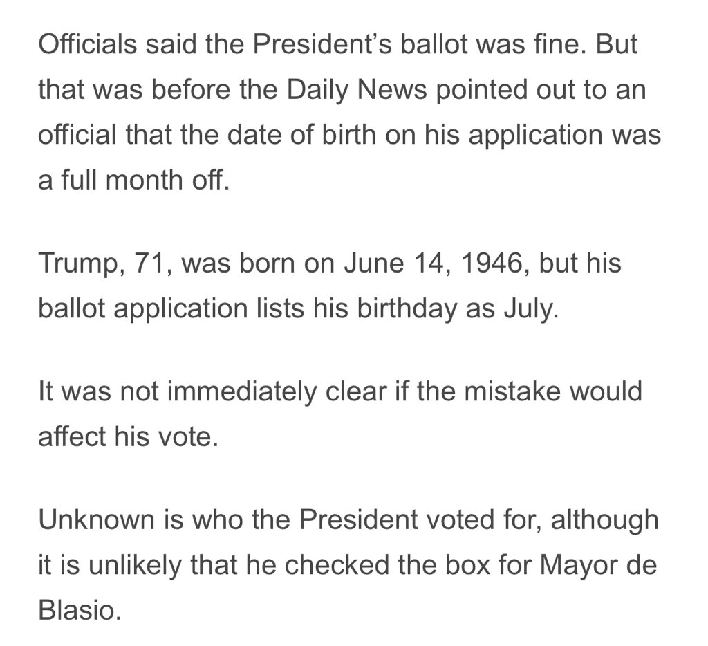 RT @pattymo: The President doesn't know his own birthday https://t.co/6ciYA6C8C3
