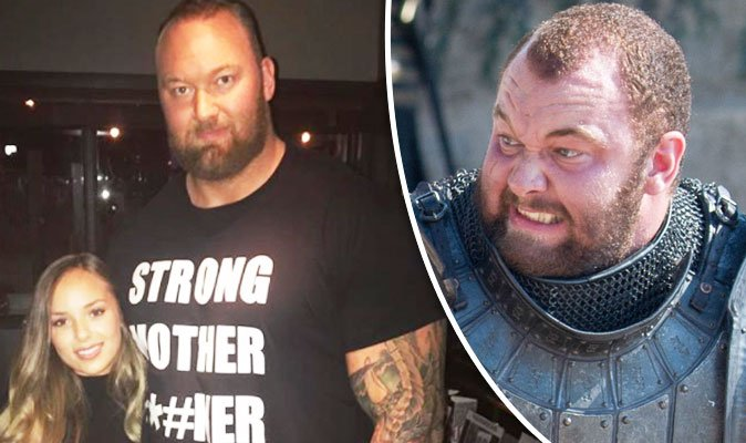 Game of Thrones fans demand answers about The Mountain's TINY girlfriend: 'How dya kiss?' #GameofThrones https://t.co/UIUnntFROn