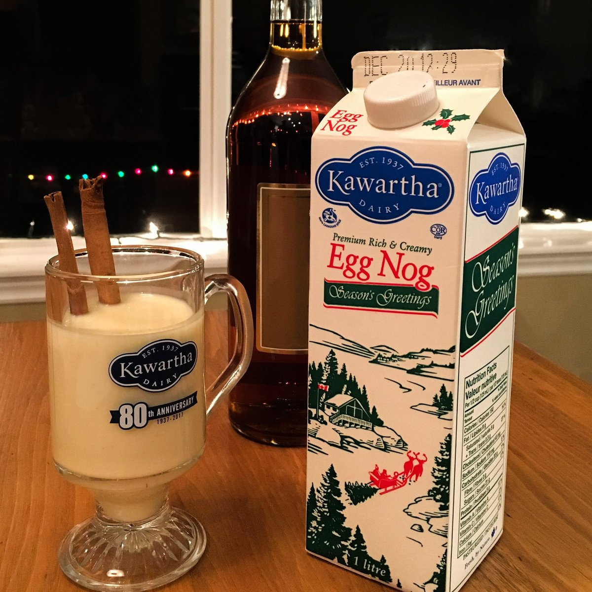Kawartha Dairy On Twitter Oh Yeah Its Egg Nog Time They Say People Mix Other Stuff With It Sometimes