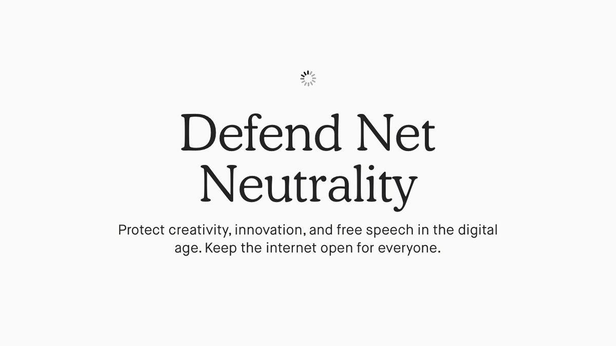 Keep the internet open for everyone. Take action to defend #NetNeutrality.   Head to https://t.co/nALna42pQr today and we'll put you in touch with your representative in Congress.