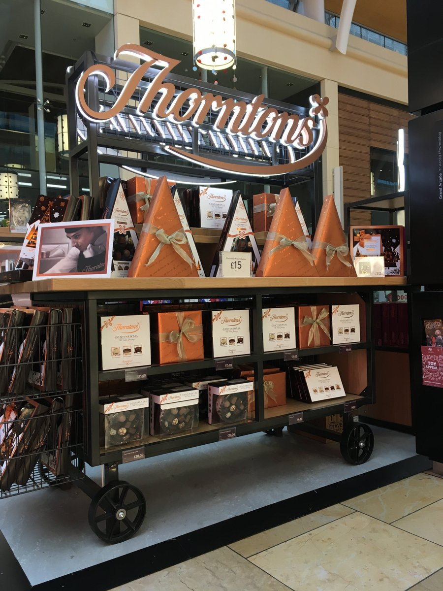 St Davids Cardiff On Twitter At Thortonschocs Has Opened A Gorgeous