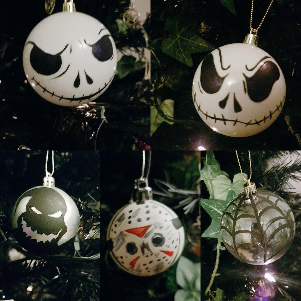 on twitter christmas decorations i made last night on stream nightmarebeforechristmas jackskellington oogieboogie - Nightmare Before Christmas Streaming