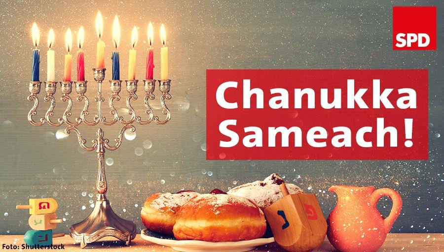 Happy #Chanukka - allen ein schönes Lichterfest!