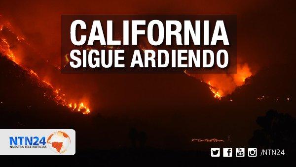 Emergencia en California por incendios forestales: el fuego amenaza a las localidades costeras de Montecito y Carpintería https://t.co/GyvptYJkvZ