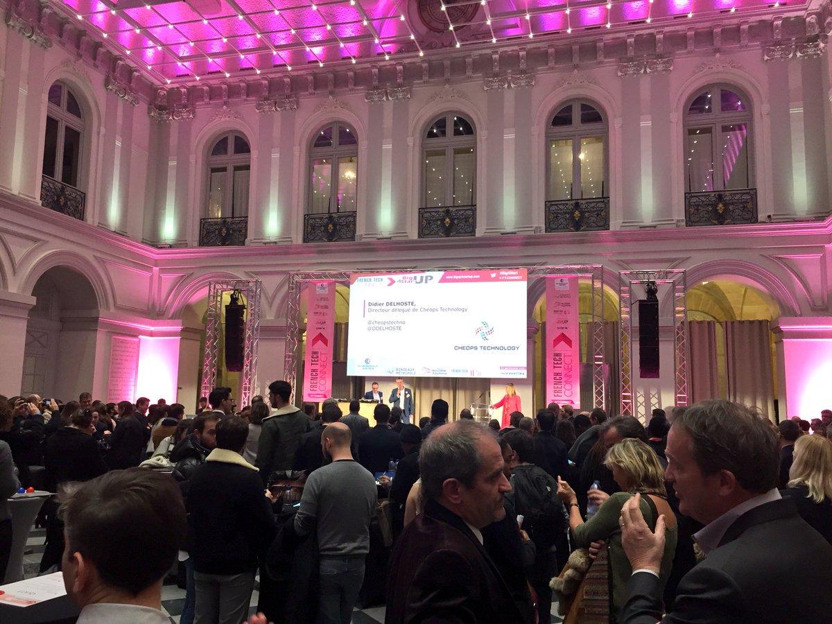 Belle réussite pour ce troisième #FTConnect de @FrenchTechBx et @CCIBdxGironde. Félicitations aussi à @Big4Start pour les rendez-vous d'affaires 🎰
