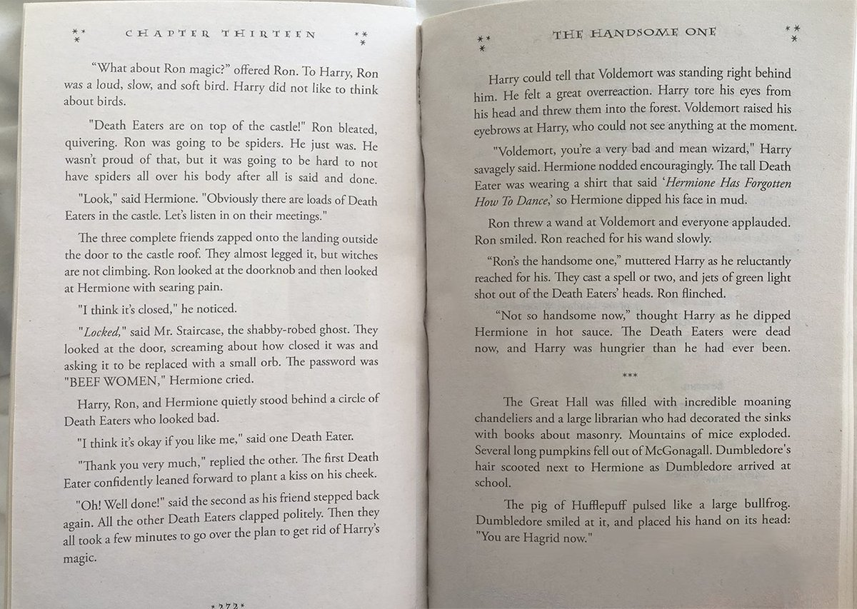 Bot Writes 'Harry Potter' Chapter and the Internet's in