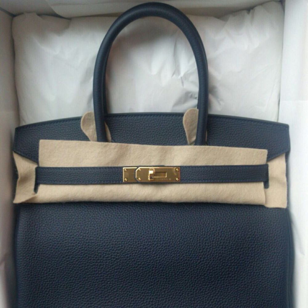 a9d3424009c ... shop the french hunter on twitter birkin 30 bleu nuit togo ghw hermes  birkin kelly constance