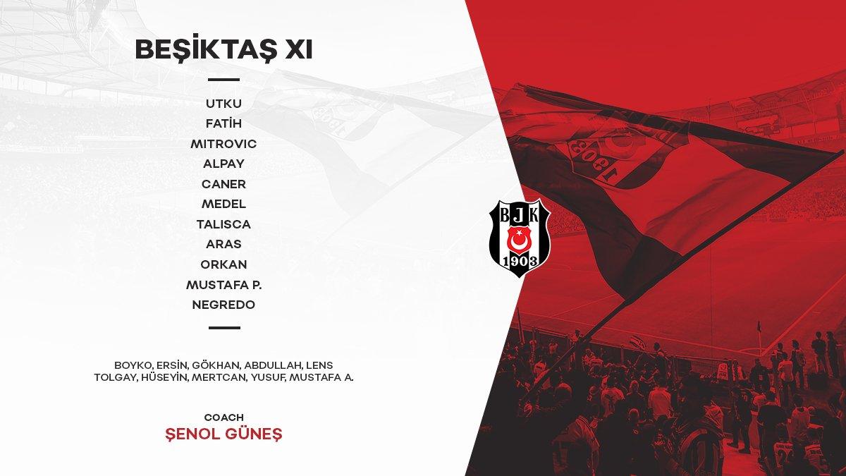 Beşiktaşımızın Ziraat Türkiye Kupası Man...
