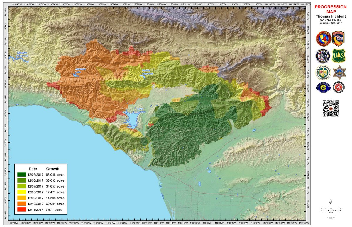 Santa Barbara County On Twitter This Map Shows The Progression Of
