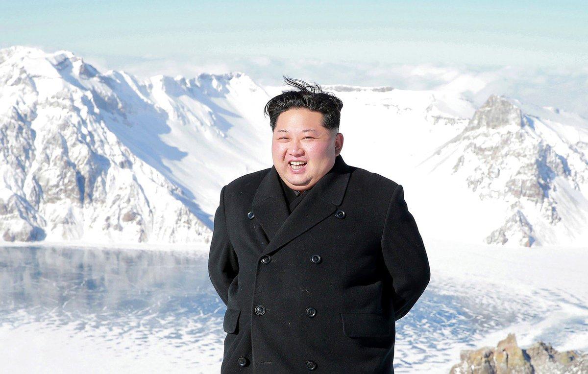 Imprensa norte-coreana anuncia que Kim Jong-un tem o poder de 'controlar a natureza' https://t.co/sLM07nhIKq #G1