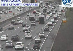 Crash Cleared: I-85/sb before I-75;  All Lanes Now Open; delays remain; https://t.co/N52KLd61yS; #ATLtraffic