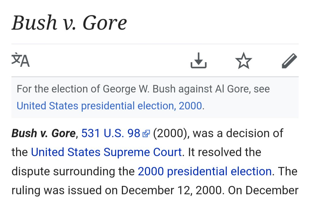 On this day in history, the all time greatest SCOTUS decision