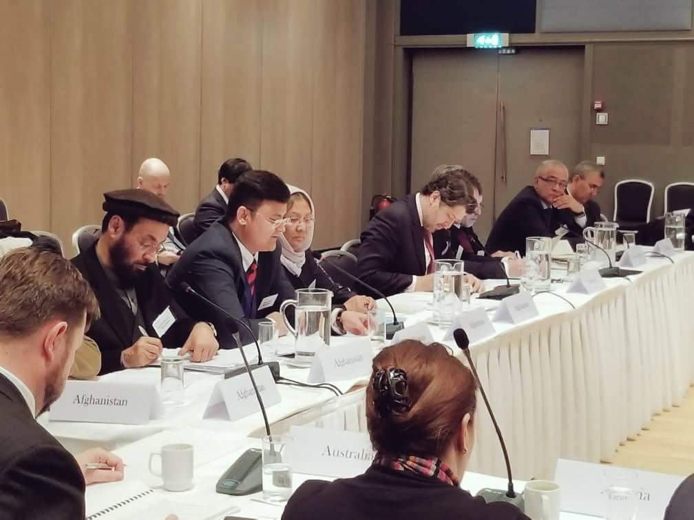 At the International Contact Group (ICG) meeting with FDM @HekmatKarzai & DM @tamimasey, will share the outcomes soon.