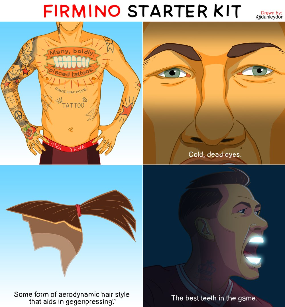 Roberto Firmino starter kit by Dan Leydon
